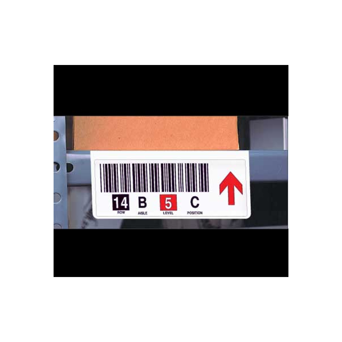 Shelf Lip Label Mounts for Warehouse
