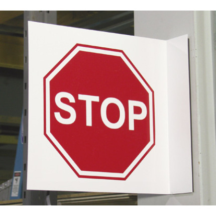 Aisle Traffic Signs -  Warehouse Stop Sign