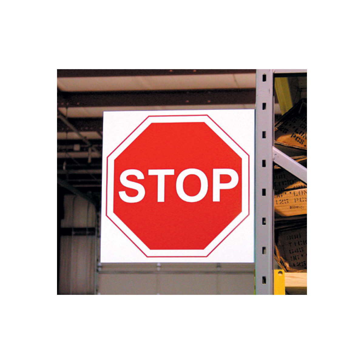Custom Aisle Traffic Signs for Warehouse