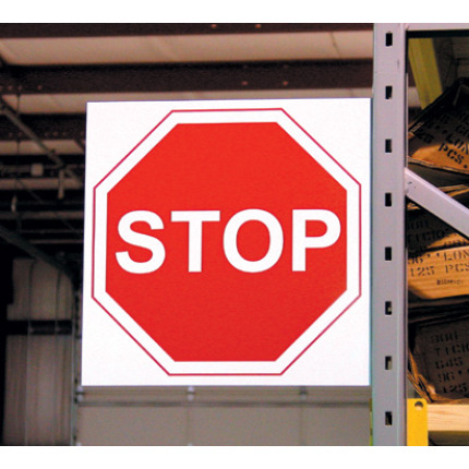 Custom Aisle Traffic Signs