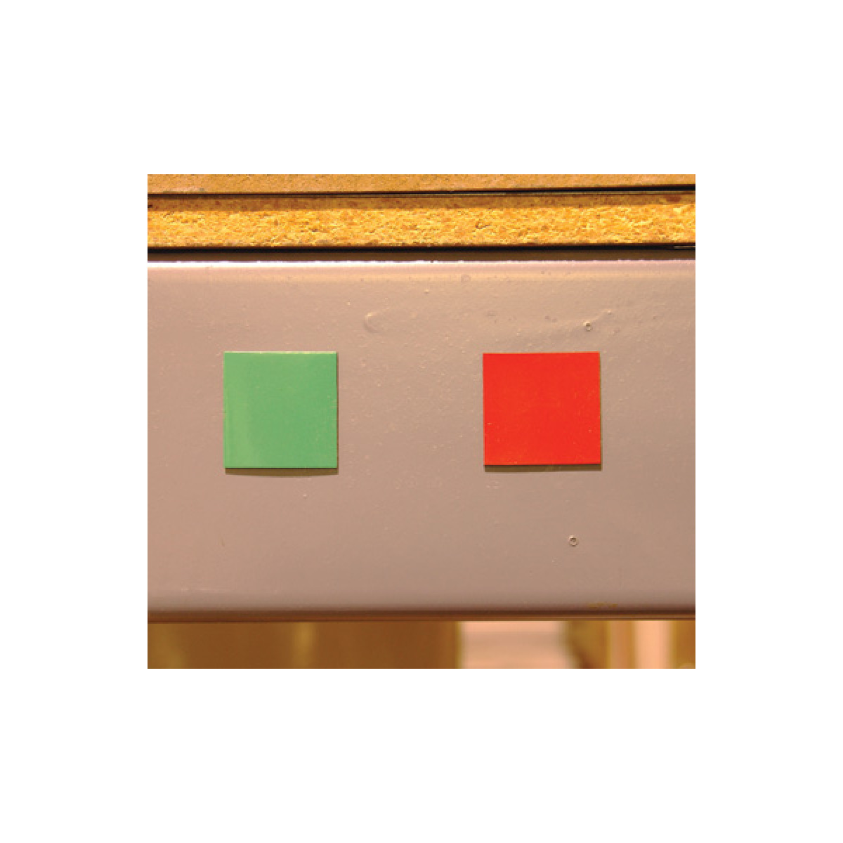 red & green two sided magnets