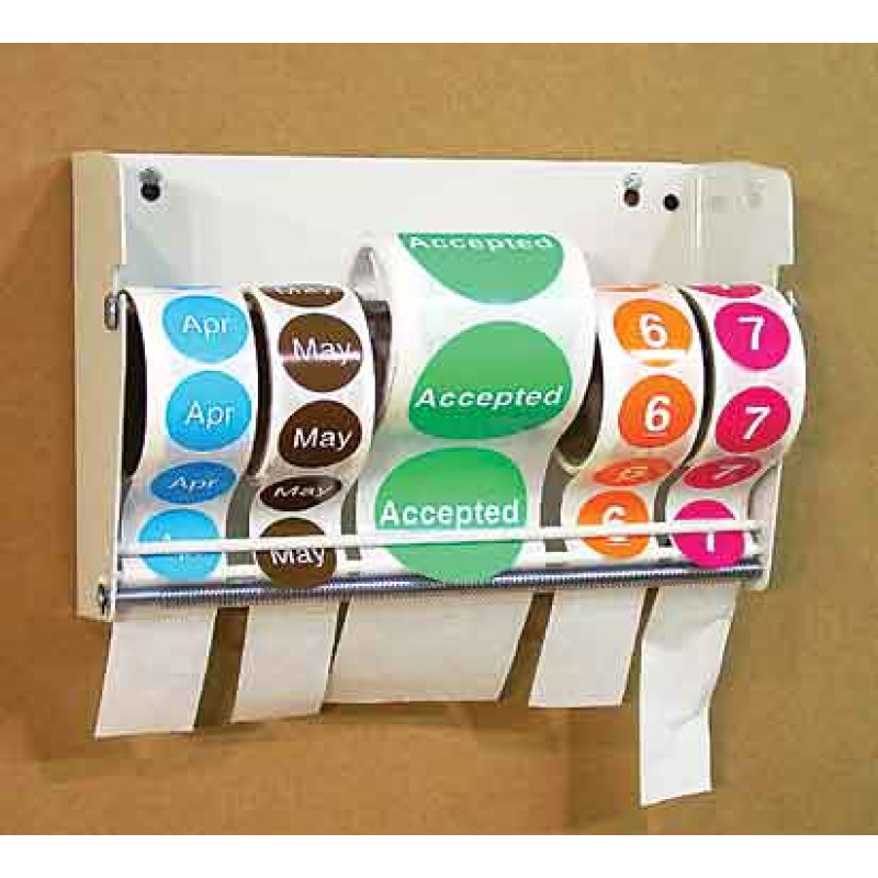 warehouse multi-roll label dispenser