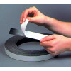 Magnetic tape roll with liner