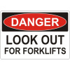 Warehouse Industrial safety signs for danger, warning, notice and identification